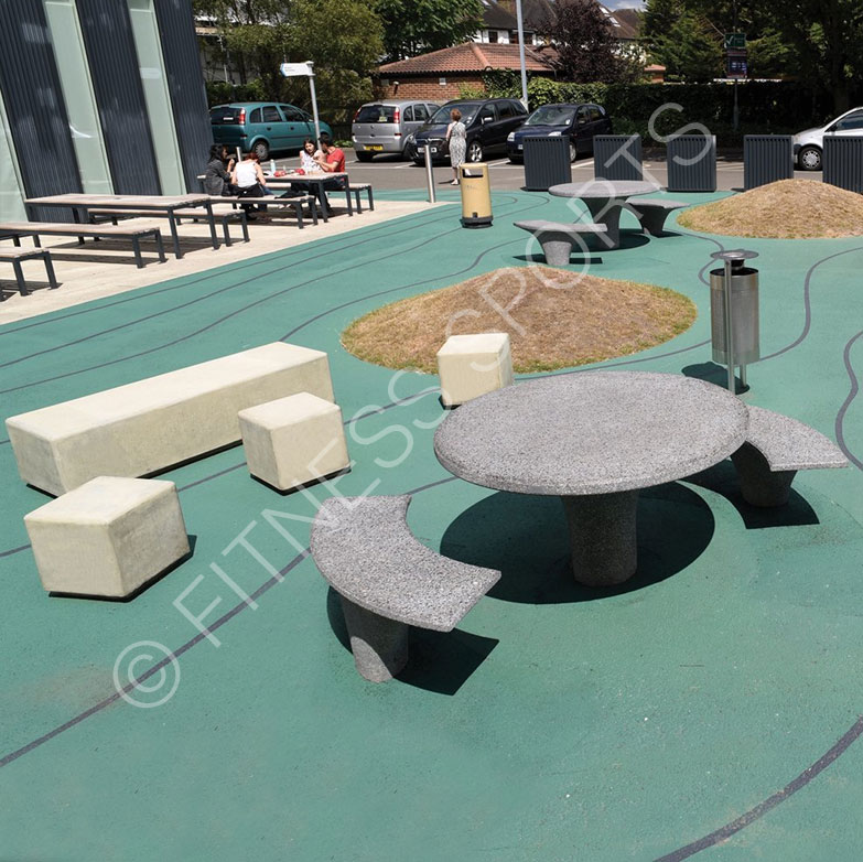 Granite Outdoor Seating Table