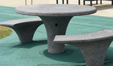 Granite Seating Area Table