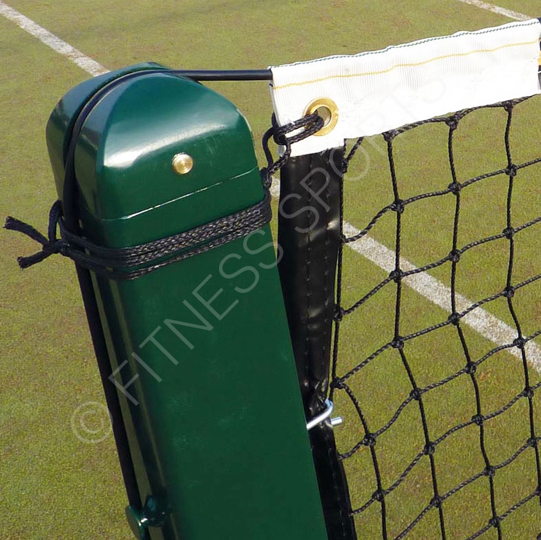 Tennis post winder for posts