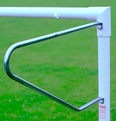 7.32m x 2.44m Socketed Goalposts