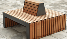 Timber Group Seating Area