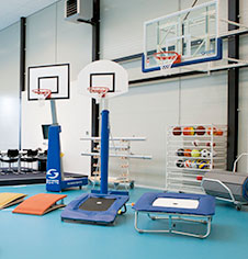 gymnasium and sports hall maintenance