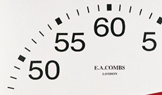 "Standard wall mounted 24"" time clock."