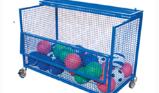 Mesh Ball Storage Box