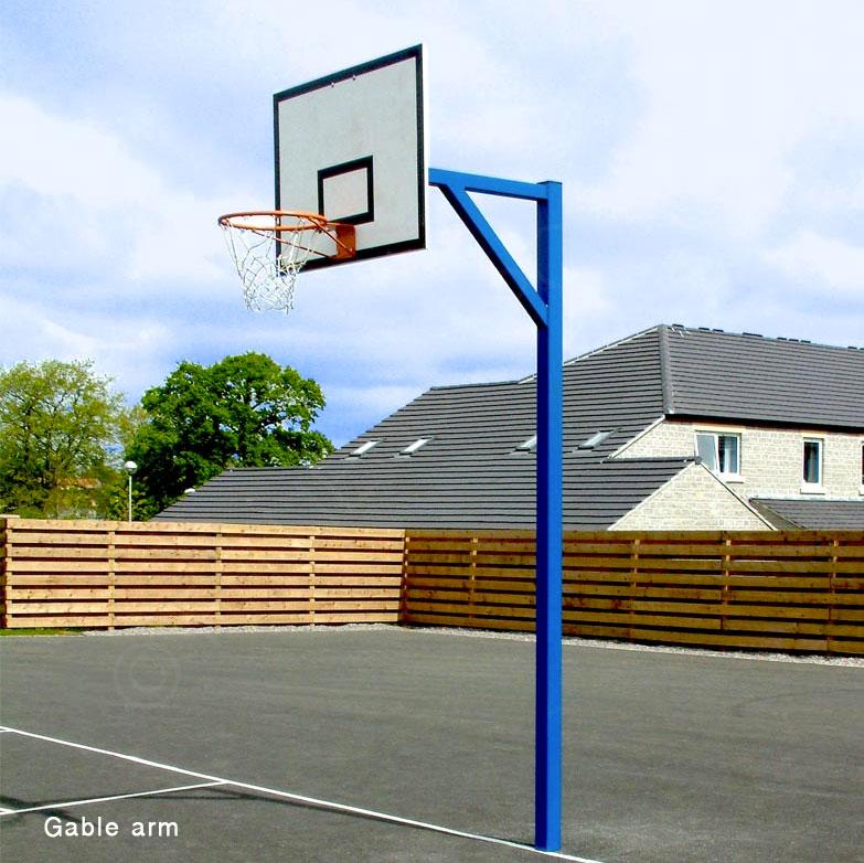 327d601c4a2 Harrod basketball posts for schools · Cricket net installation