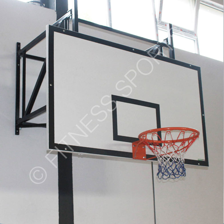 Indoor Sure Shot 533 Wall Mounted Indoor Basketball Goal System ...