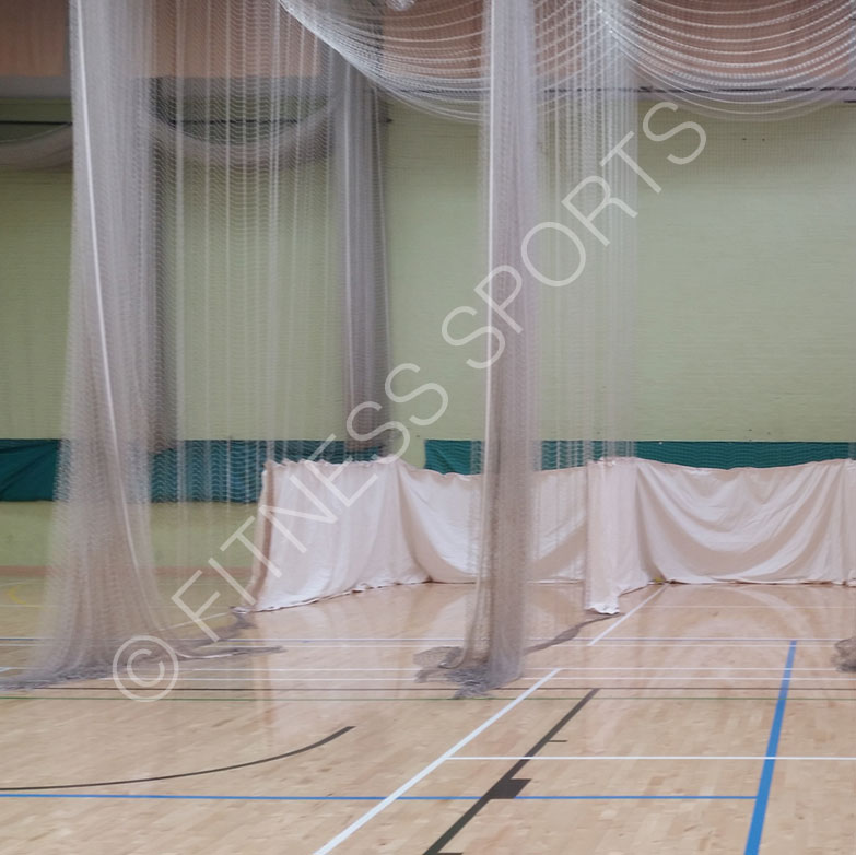 Cricket roof tracked nets