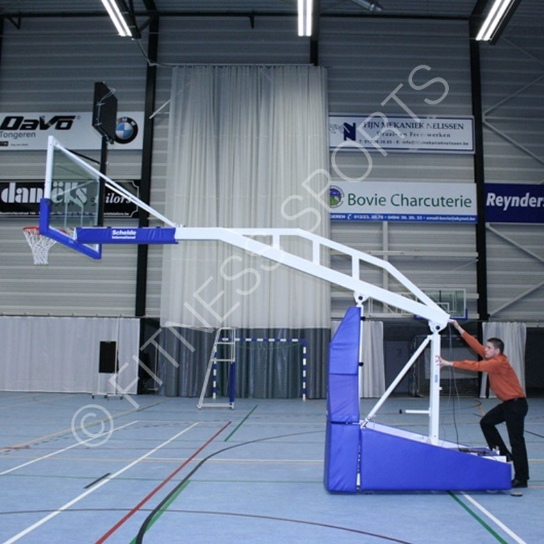 Schelde Indoor Matchplay 330 Portable Basketball Court