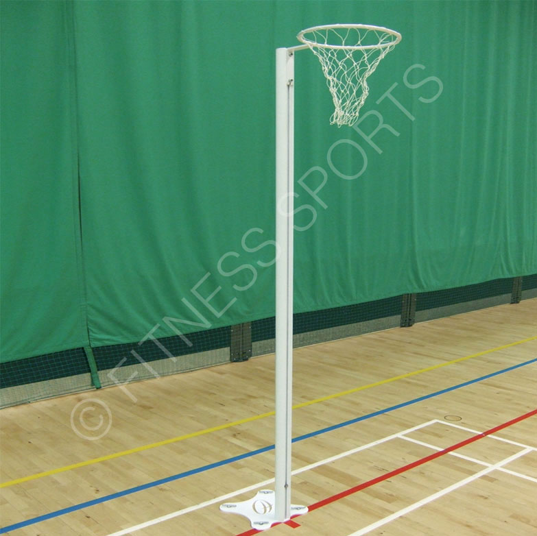 Indoor Ground FIxed Netball Posts