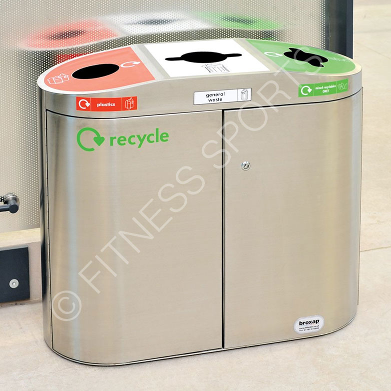 Charming Large Office Recycling Bin