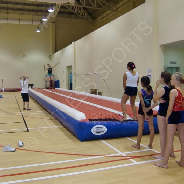 Inflatable Gymnastic Tumble Matting Gymnasium Safety Matting