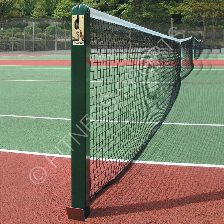 Steel 76mm Square Tennis Posts