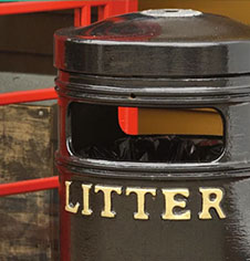Litter bins for public use sales