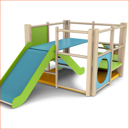 Junior PE Climbing Frame
