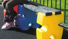 Junior Jigsaw Playground Bench