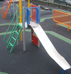 Robust junior outdoor MUGA playground equipment