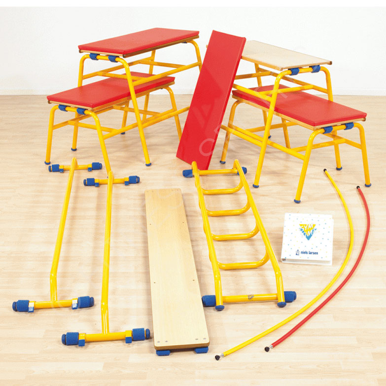 Connecting Steel Pe Apparatus Game Time Gymnasium
