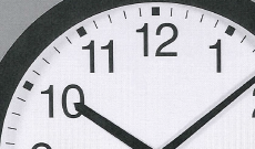 """20"""" Time Of Day Clock"""