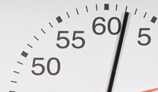 "24"" Gymnasium Pace Clock"