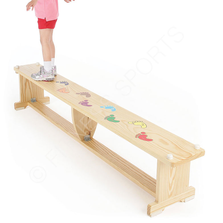Remarkable Wooden Balance Benches With Graphics Fitness Sports Machost Co Dining Chair Design Ideas Machostcouk
