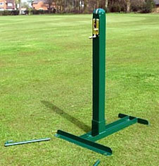 Tennis posts for tennis court use