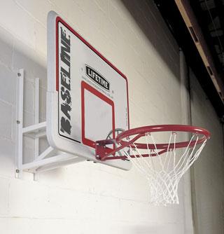 lifetime wall mounted basketball net lifetime wall mounted basketball