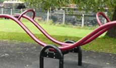 Lynx Steel Seesaw