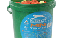 Slazenger x 96 mini tennis ball bucket.