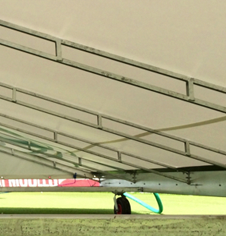 Apex 22m Mobile Wicket Covers