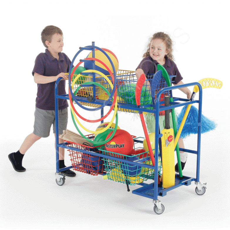 Primary PE Equipment Storage Trolley
