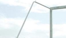 International steel tubular net full elbow supports.