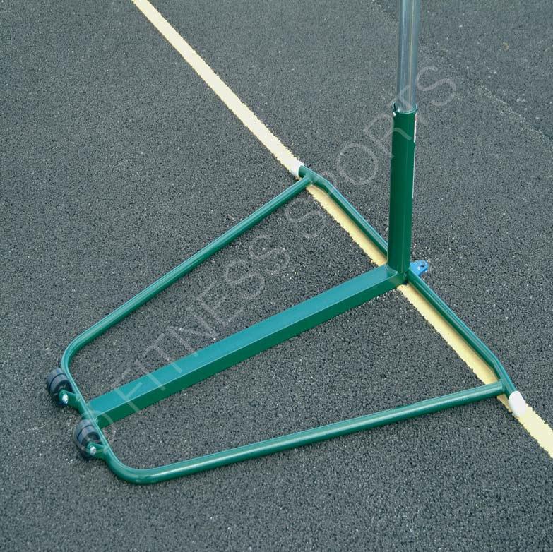 Freestanding Portable Steel Netball Posts Fitness Sports