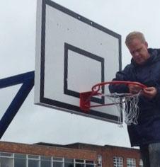 Outdoor Basketball Maintenance