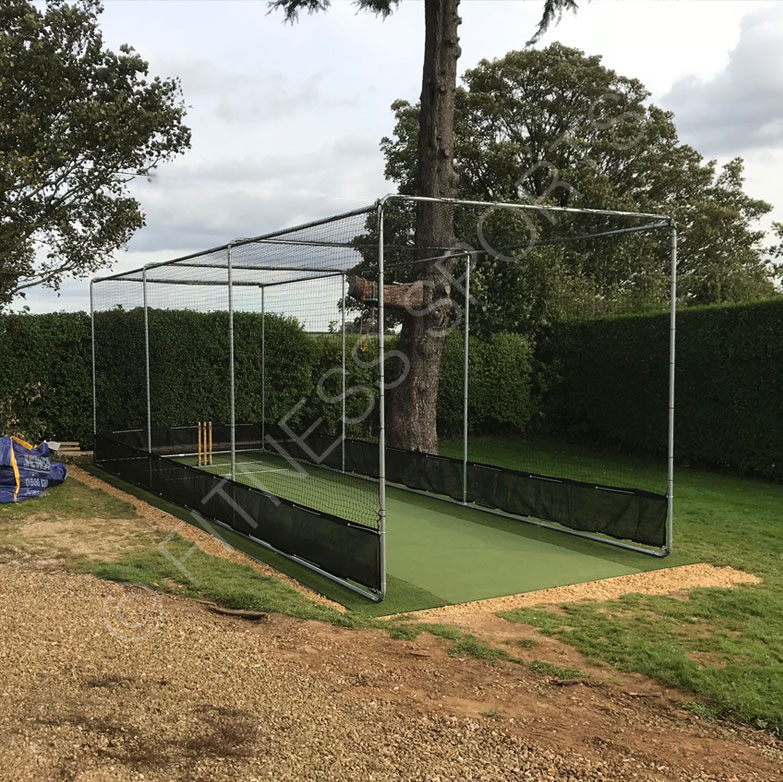 Residential Pitch & Cricket Net Cage