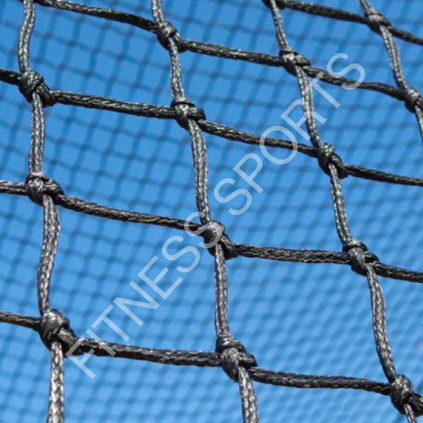 Outdoor 16z Black Cricket Netting