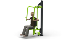 Outdoor Exercise Push Up Seat