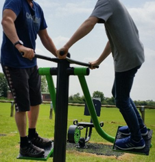 Outdoor Fitness Gymnasium & Exercise Trail Equipment