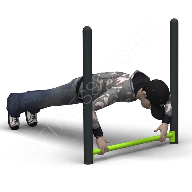 Outdoor Fitness Push Up Bars