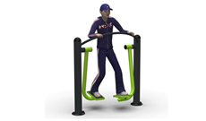 Outdoor Fitness Step Walker