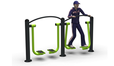 Outdoor Gymnasium Twin Walker