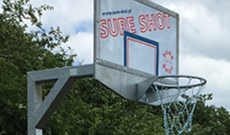 In Ground Basketball Posts