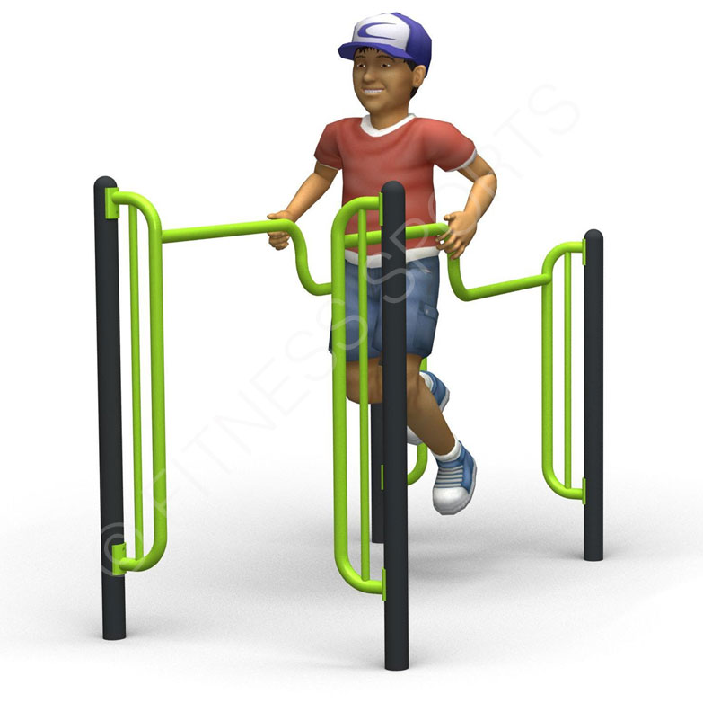 Outdoor Fitness Trail Parallel Bars Fitness Sports