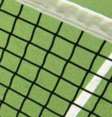 Freestanding Steel Mini Tennis Posts