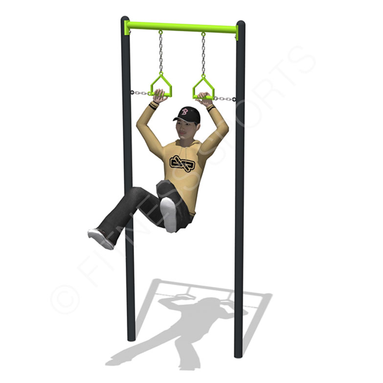 Outdoor Fitness Trapeeze Ring Bar