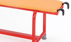 Padded Steel PE Benches