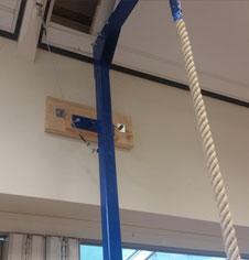 Rope Climbing Wall Frames