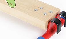 Active Balance Beam Plank