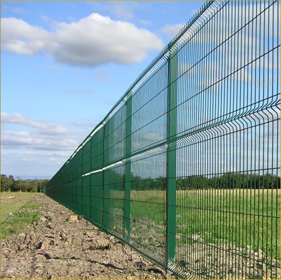 Wire mesh perimiter fencing boundary fences steel chain