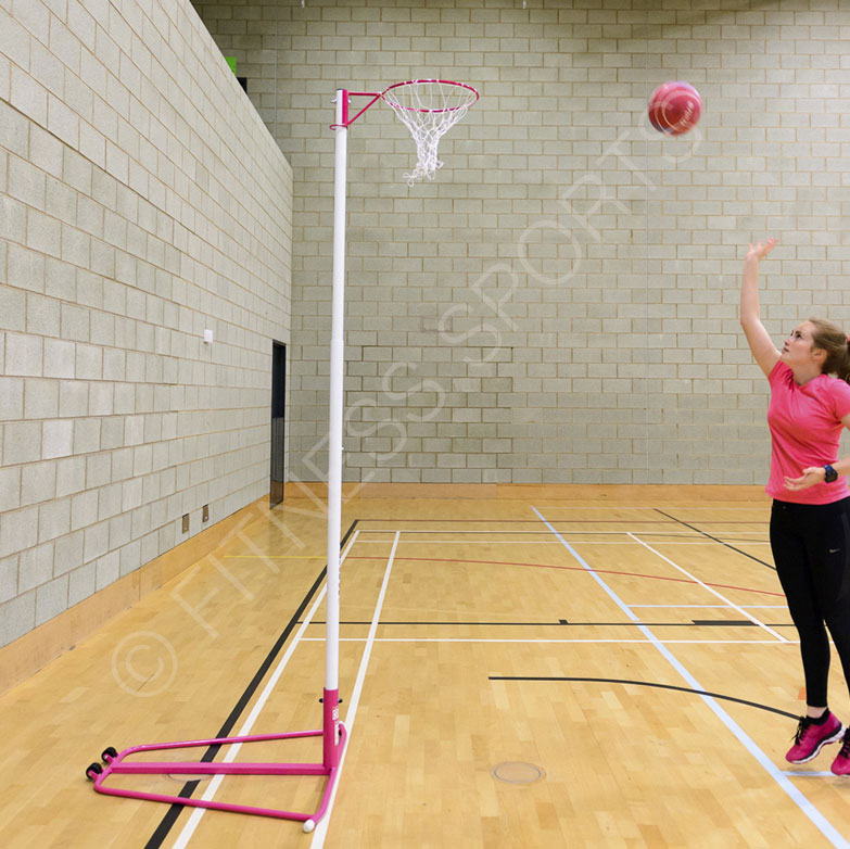 Indoor Telescopic Netball Posts