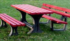 Steel Park Bench